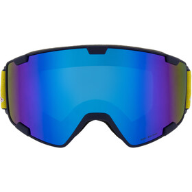 Red Bull SPECT Park Lunettes de protection, dark blue/blue snow